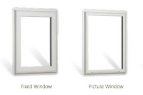 picture and high fixed window